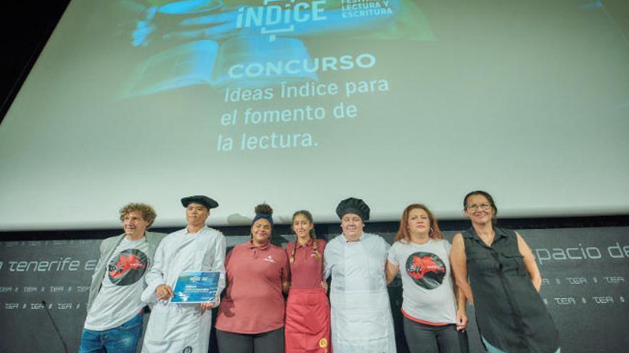 Un docente del IES Virgen de la Candelaria gana el concurso de ideas de Índice