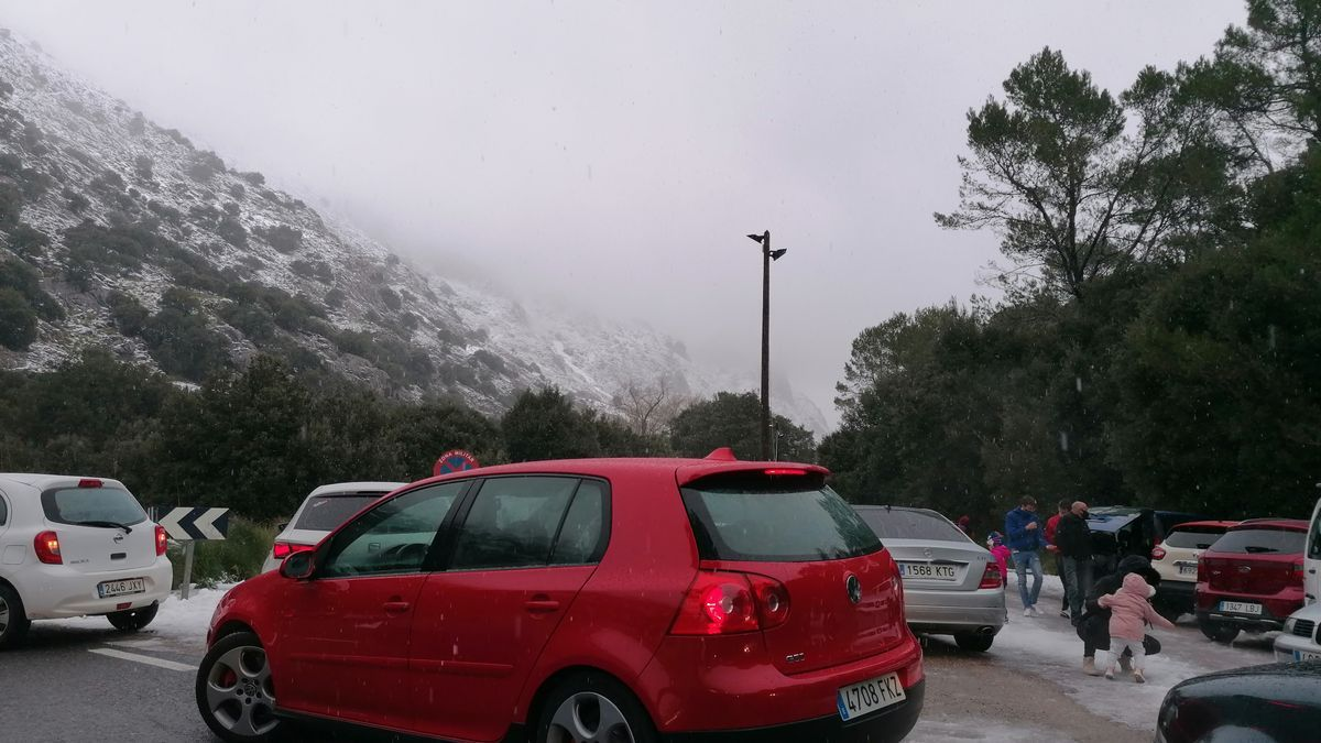 Las mejores imágenes de la nieve en la Serra de Tramuntana