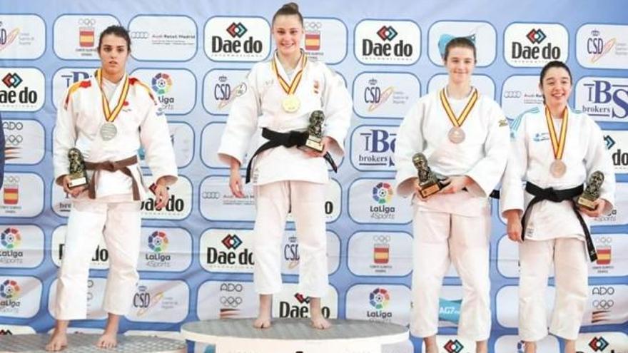 Ariane Toro, medalla de plata en el Nacional junior