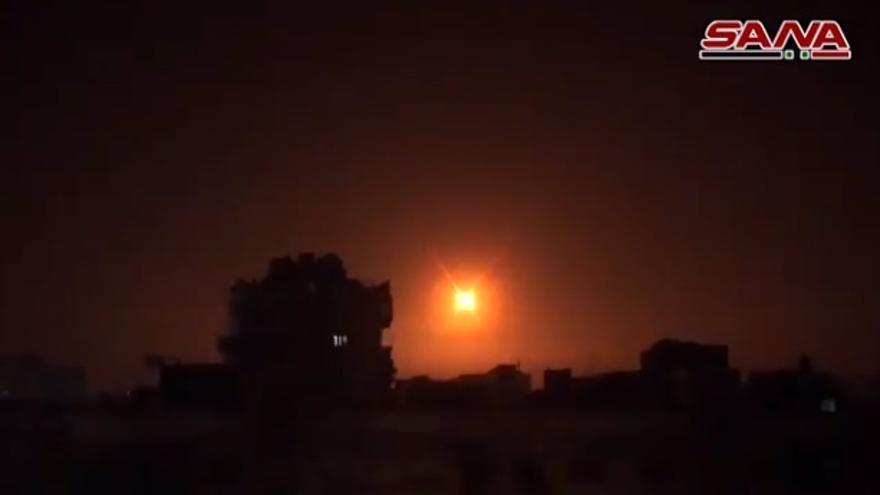 Al menos 8 muertos en el primer ataque israelí contra Siria en más de un mes