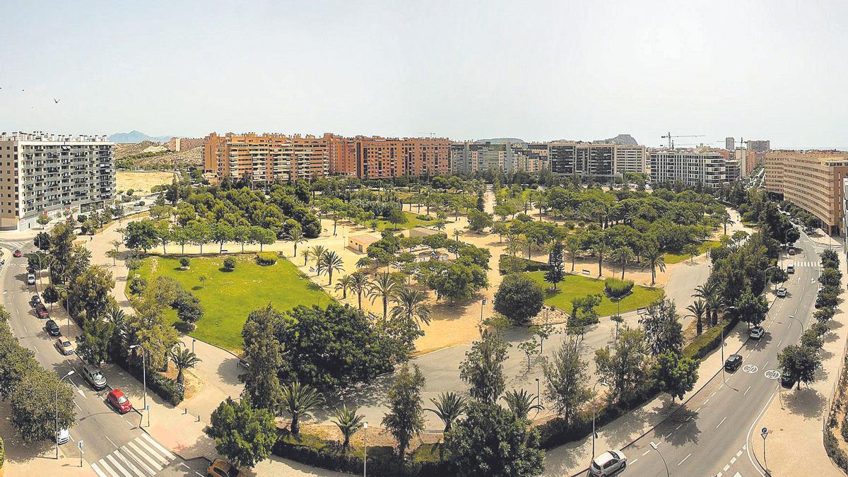 View of PAU 1, which has recently been renamed the neighborhood of Juan Pablo II.