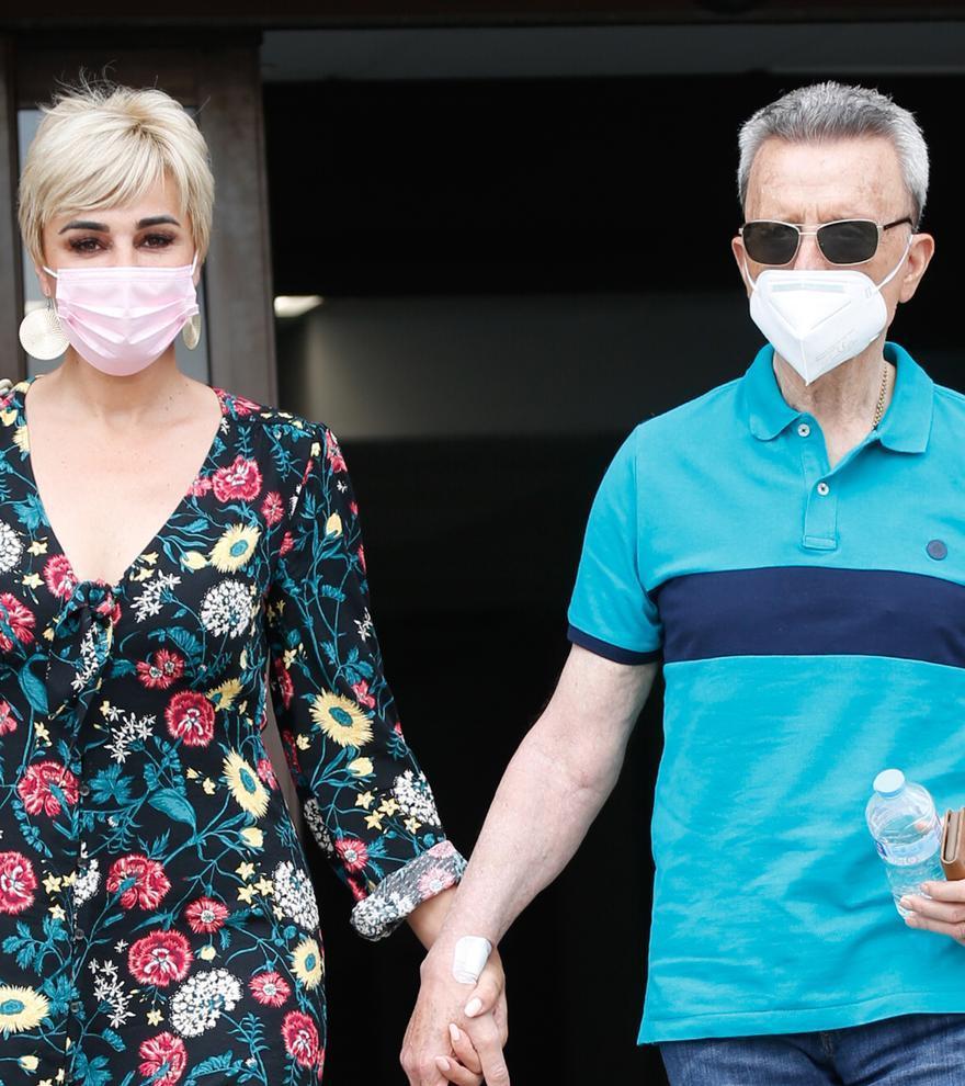 """Ortega Cano sufre un """"bajón de tensión"""" tras recibir el alta de su operación del corazón"""