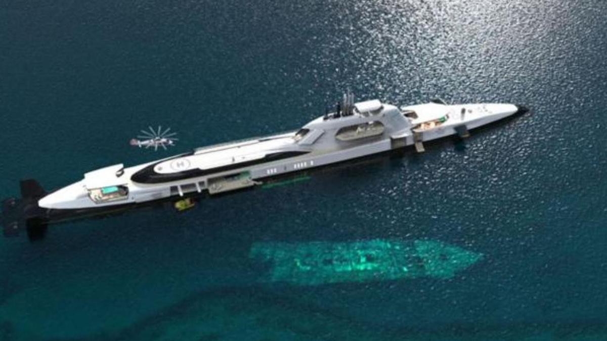 La embarcación de lujo es la más cara del mundo