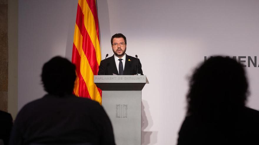 Aragonès apremia al Estado a reparar el fusilamiento de Lluís Companys