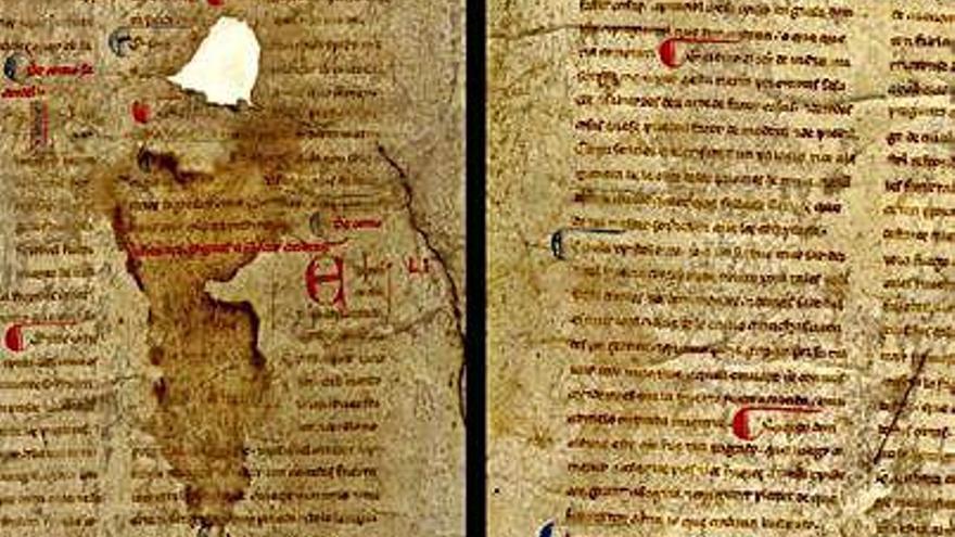Identificados dos manuscritos de un colaborador del rey Alfonso X
