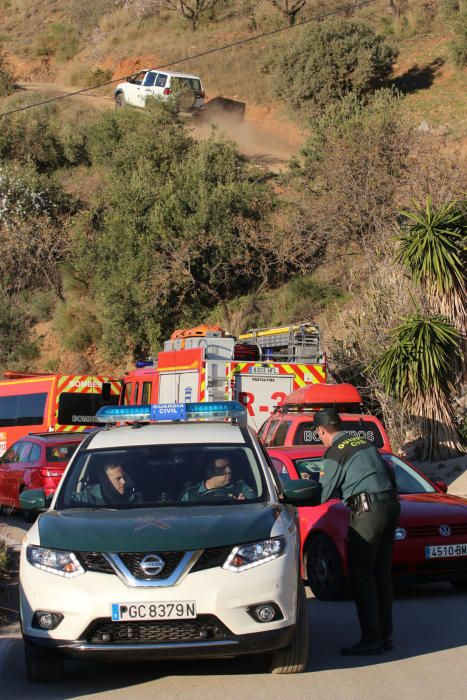Operación de rescate de un niño de 2 años en un pozo de Málaga