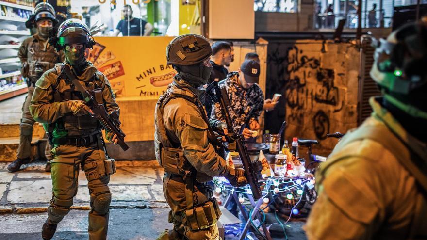 Unos 180 heridos en enfrentamientos en Jerusalén