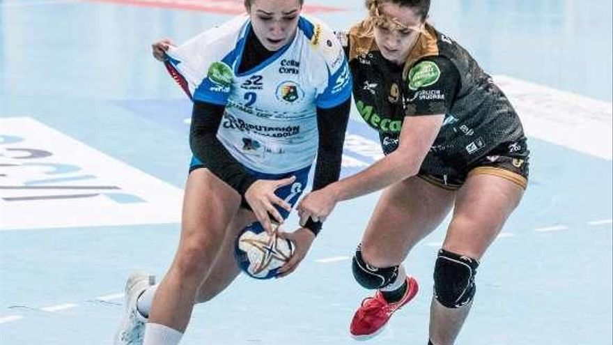 Elba Álvarez, mejor jugadora promesa de la Liga Iberdrola