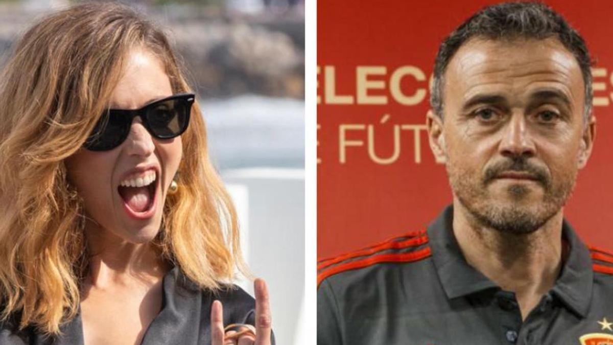 Leticia Dolera cuestiona la decisión de Luis Enrique