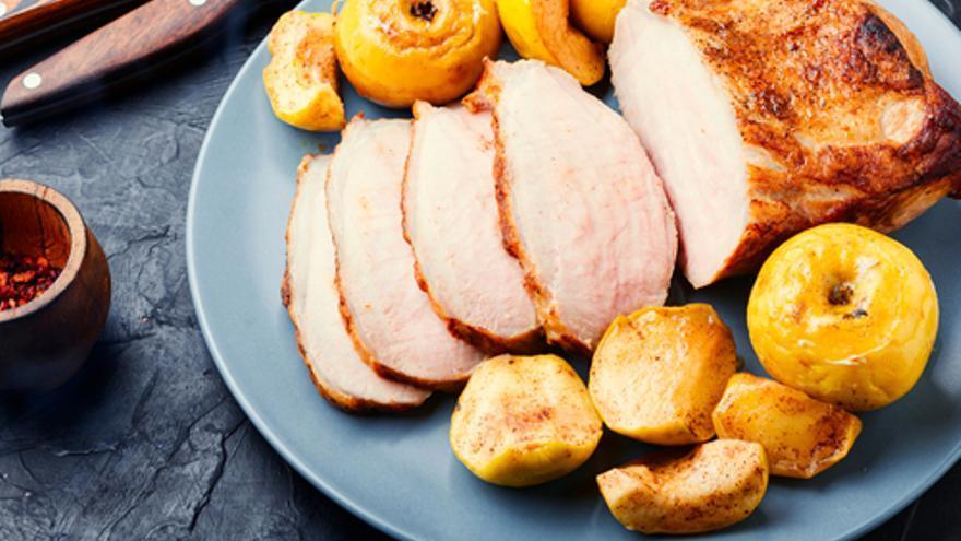 Llom de porc amb pomes