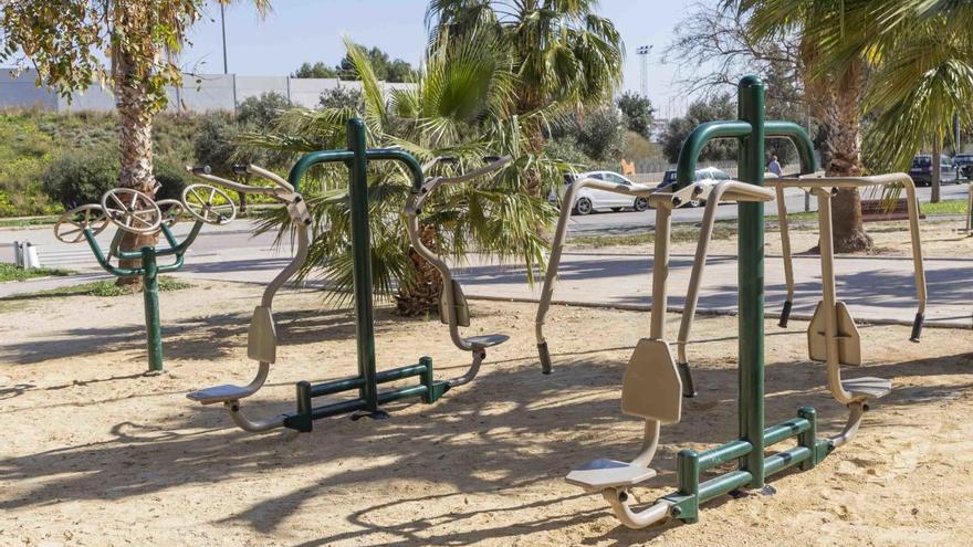 Picassent instala 10 aparatos de ejercicios físicos al aire libre