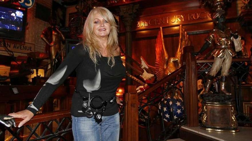 Patricia Moon y Broken Peach serán los teloneros de Bonnie Tyler