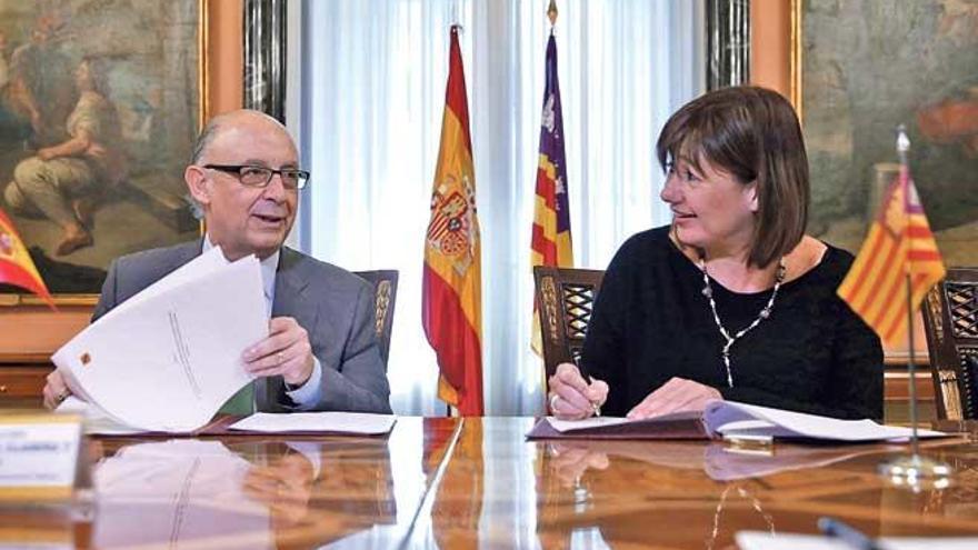 El Gobierno da 86 millones de euros a Balears para pagar 8.897 facturas