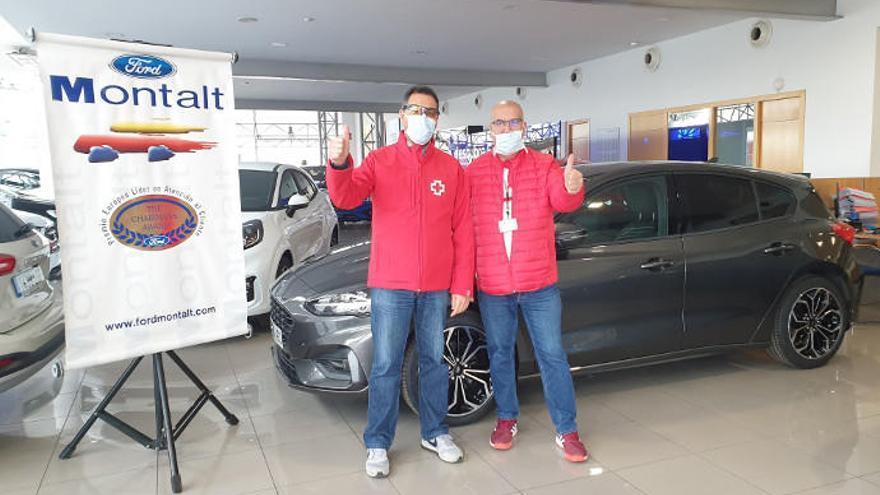Grupo Montalt cede una cincuentena de vehículos a Ayuntamientos y Cruz Roja