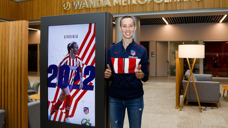 Virginia Torrecilla renueva con el Atlético de Madrid hasta 2022