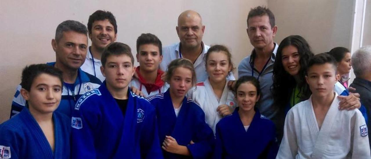 Los judocas de Alzira copan el medallero en el interprovincial
