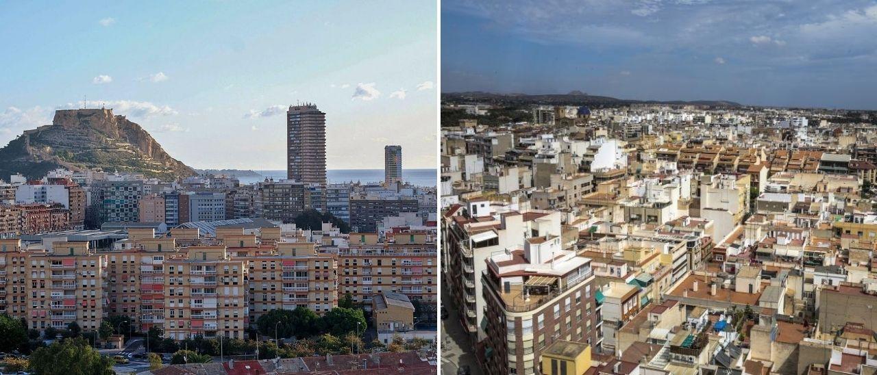 Panorámicas de Alicante y Elche, que estarán unidas con autobuses de gran capacidad
