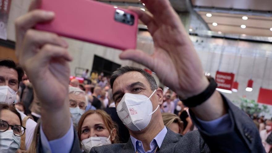 Sánchez acude a Valencia para consolidar su liderazgo y presentarse como referente de la socialdemocracia europea