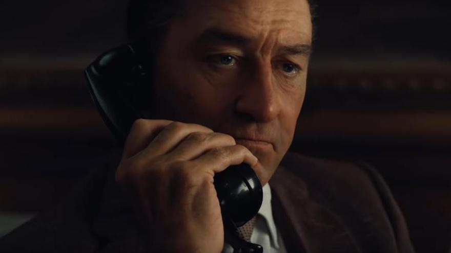 Mafia en estado puro en el primer tráiler de 'The Irishman', de Martin Scorsese