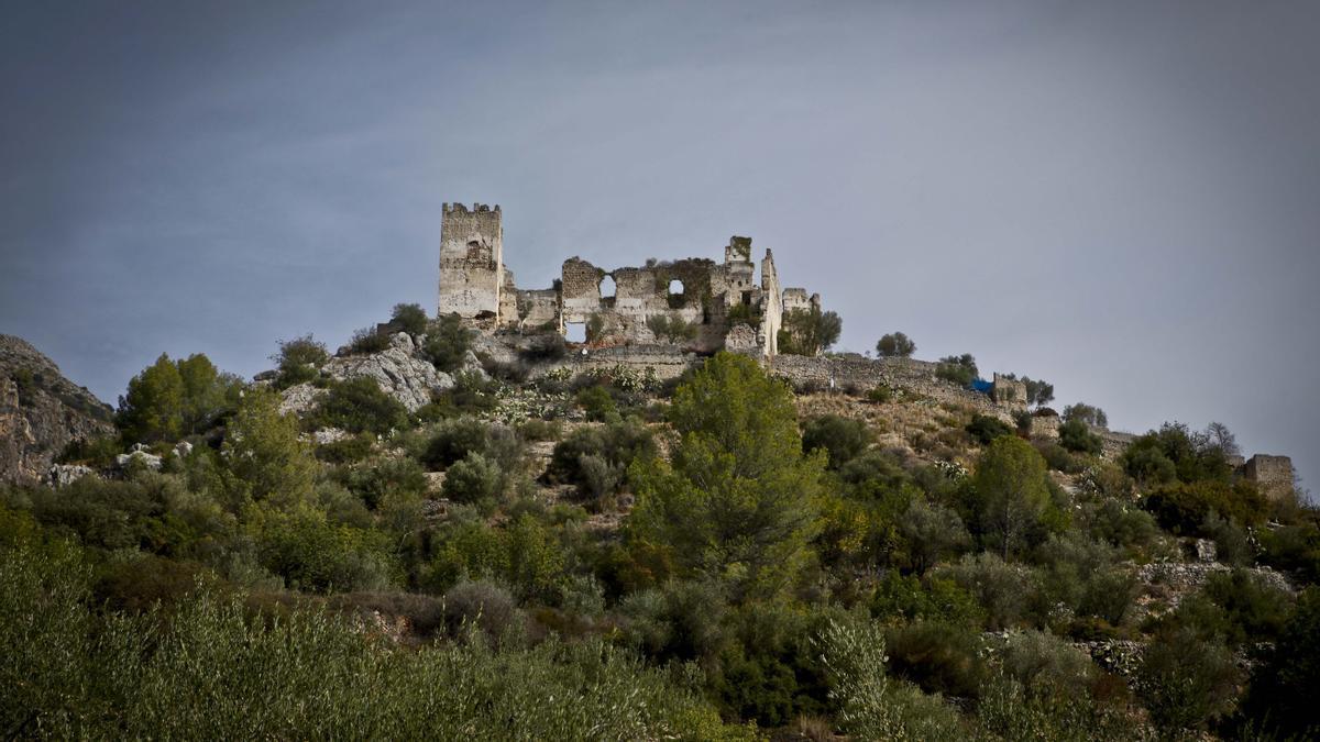 Castillo de Perputxent en Lorcha