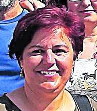 ADELANTE   Francisca Macías. NUEVA. Número 1 de la lista de Podemos Málaga. Es trabajadora de Correos y activista en la defensa de los derechos de los vecinos.
