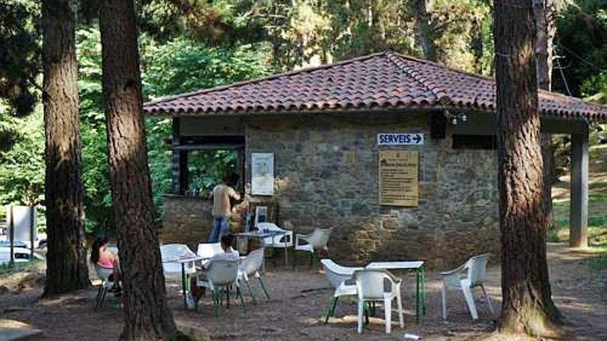 L'àrea d'Els Pins a Sant Privat atrau més de 14.000 visitants