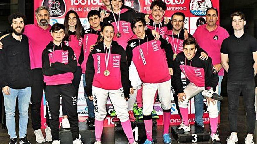Triunfos locales en el Campeonato Gallego en la Casa del Agua