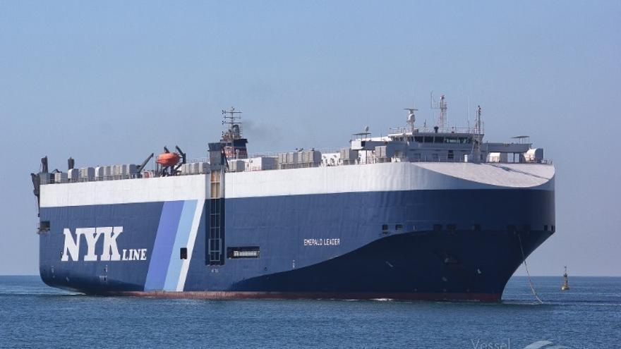 Confinado un segundo buque en Vigo con cinco casos de COVID