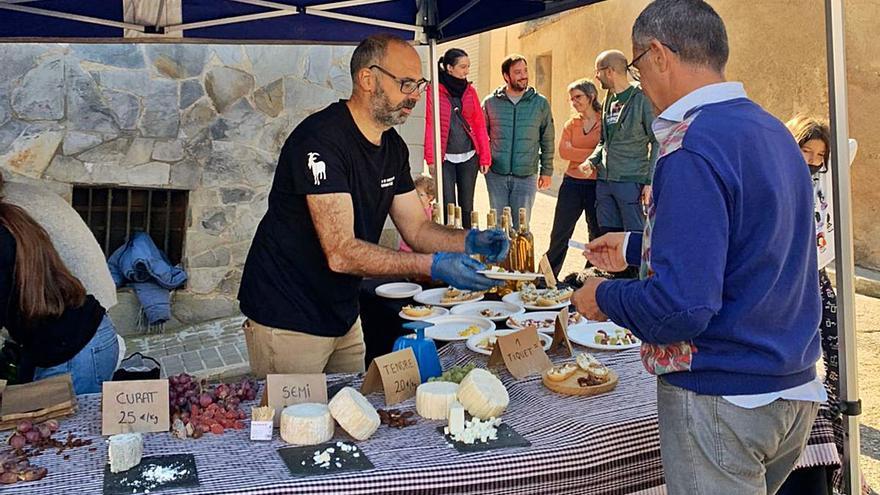 El Parc Agrari de la Conca d'Òdena celebra amb èxit la mostra de productors