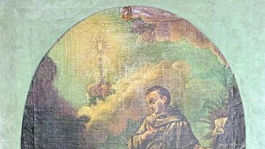Una pintura de gran interés en el Museo de la Virgen