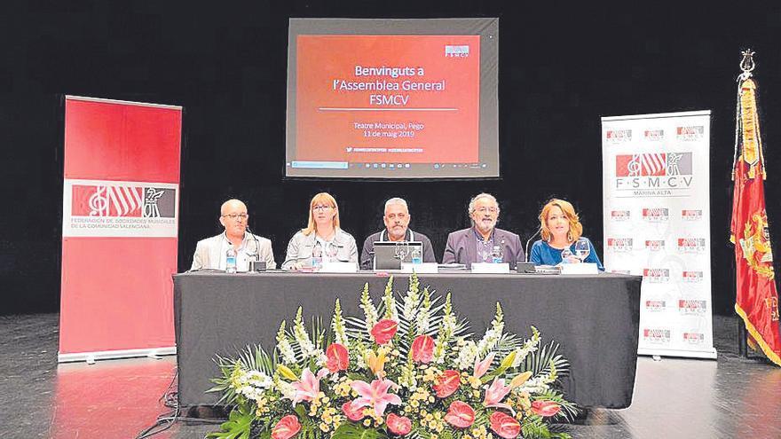 La federación reúne a 557 sociedades musicales en su primera asamblea 'online'