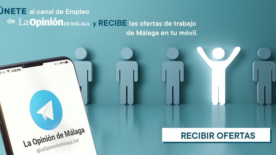 La Opinión de Málaga lanza un canal de Telegram para recibir las ofertas de empleo en tu móvil