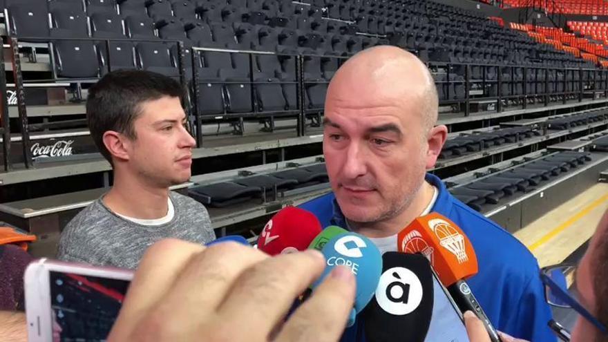 Ponsarnau analiza el partido ante Estrella Roja