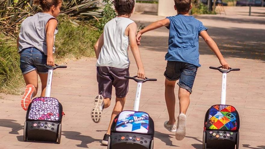 La solución definitiva para evitar lesiones de espalda en los niños con la vuelta al cole