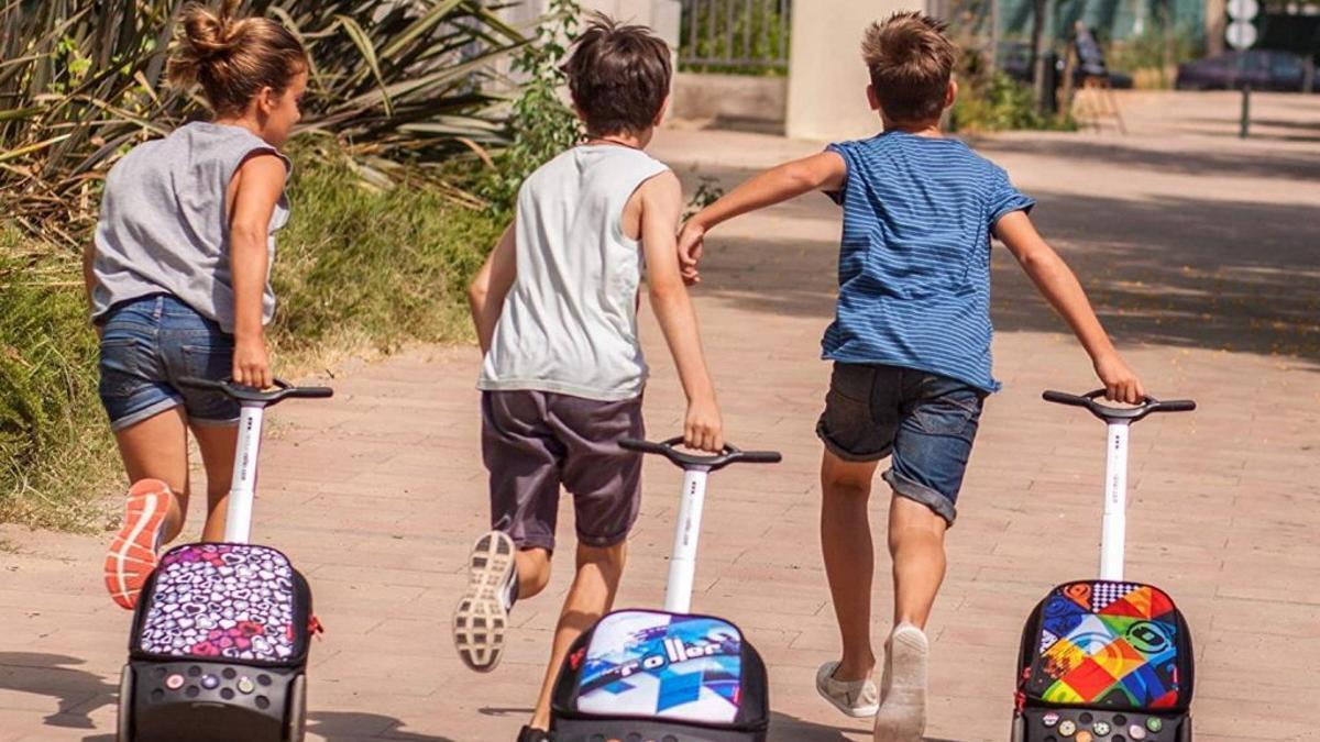 Mochilas escolares trolley para la vuelta al cole.