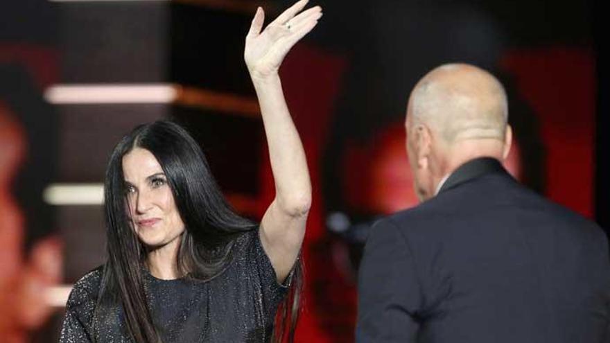 Las 'pullas' de Demi Moore a Bruce Willis sobre su matrimonio