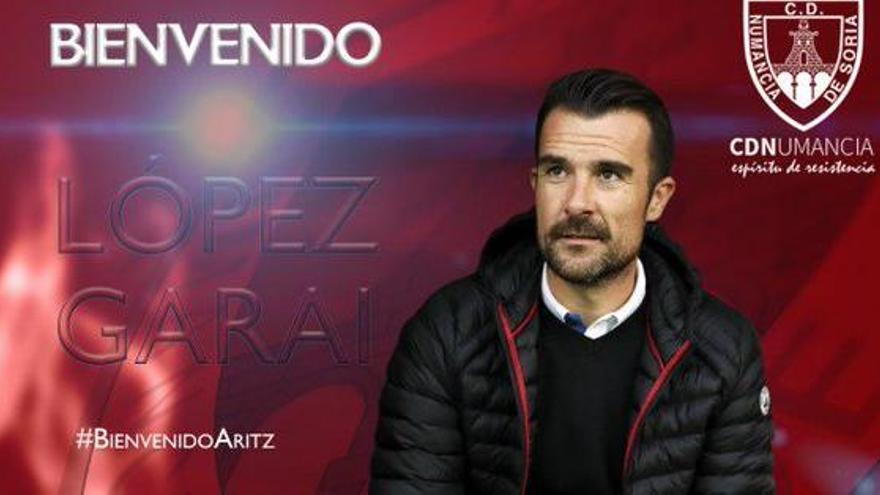 El exrojiblanco López Garai, nuevo entrenador del Numancia