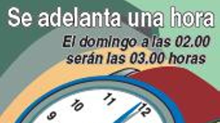 Los relojes se adelantan esta madrugada en la UE para iniciar el horario de verano