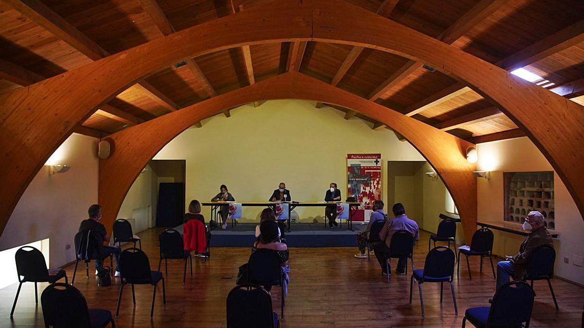 Asamblea de la Hermandad de Donantes de Sangre en Zamora. | Nico Rodríguez