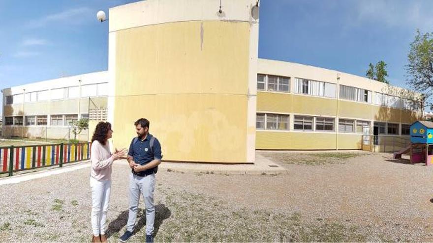 Educación amplia el patio de infantil del CEIP Carles Salvador de Castelló