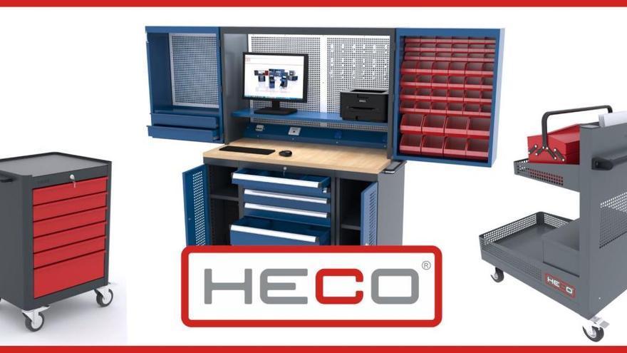 La figuerenca Heco, líder en el sector del moble metàl·lic