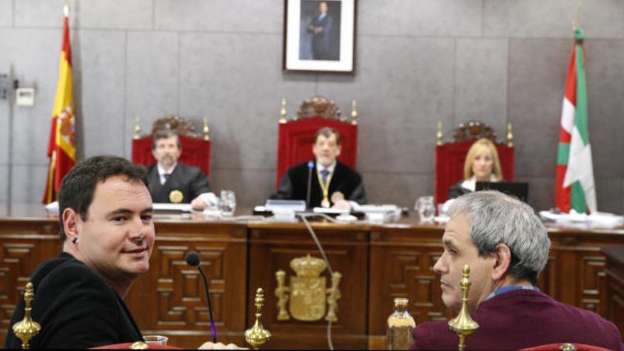 Hasier Arraiz reconoce al juez la acusación y el daño a las víctimas