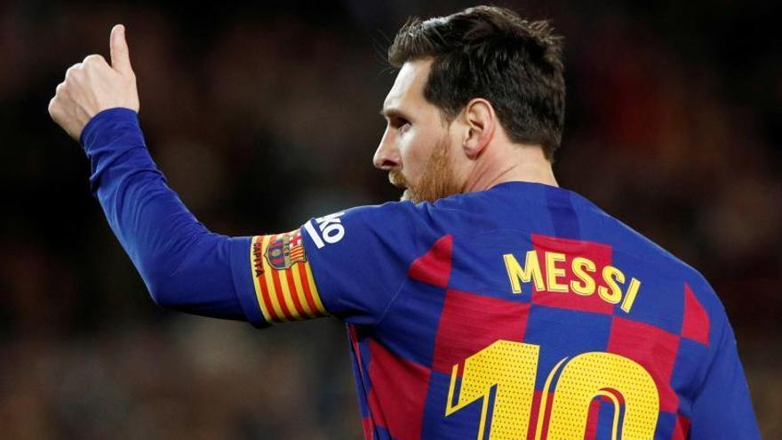 Messi confirma la rebaixa del sou dels jugadors i critica el club