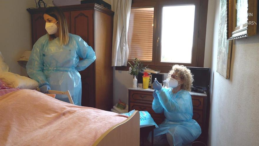 Empieza la vacunación contra el coronavirus de los grandes dependientes de Baleares