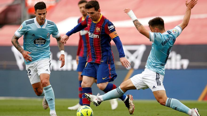 Un Barcelona trist diu adéu a LaLliga amb una derrota davant del Celta (1-2)