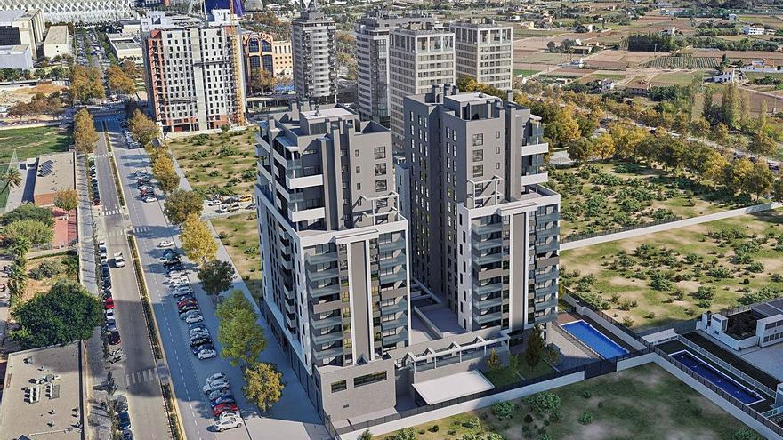 La inmobiliaria del fondo Oaktree invierte 45 millones en 300 viviendas en Valencia