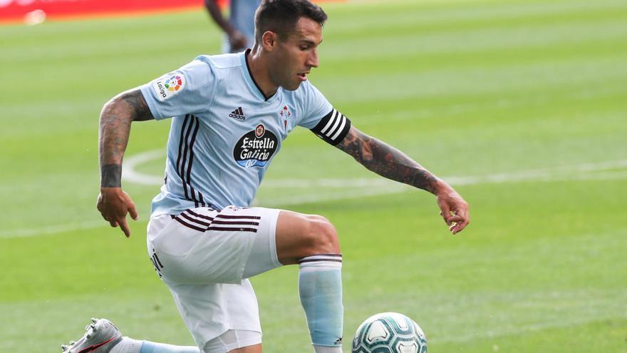 Hugo Mallo, baja por lesión