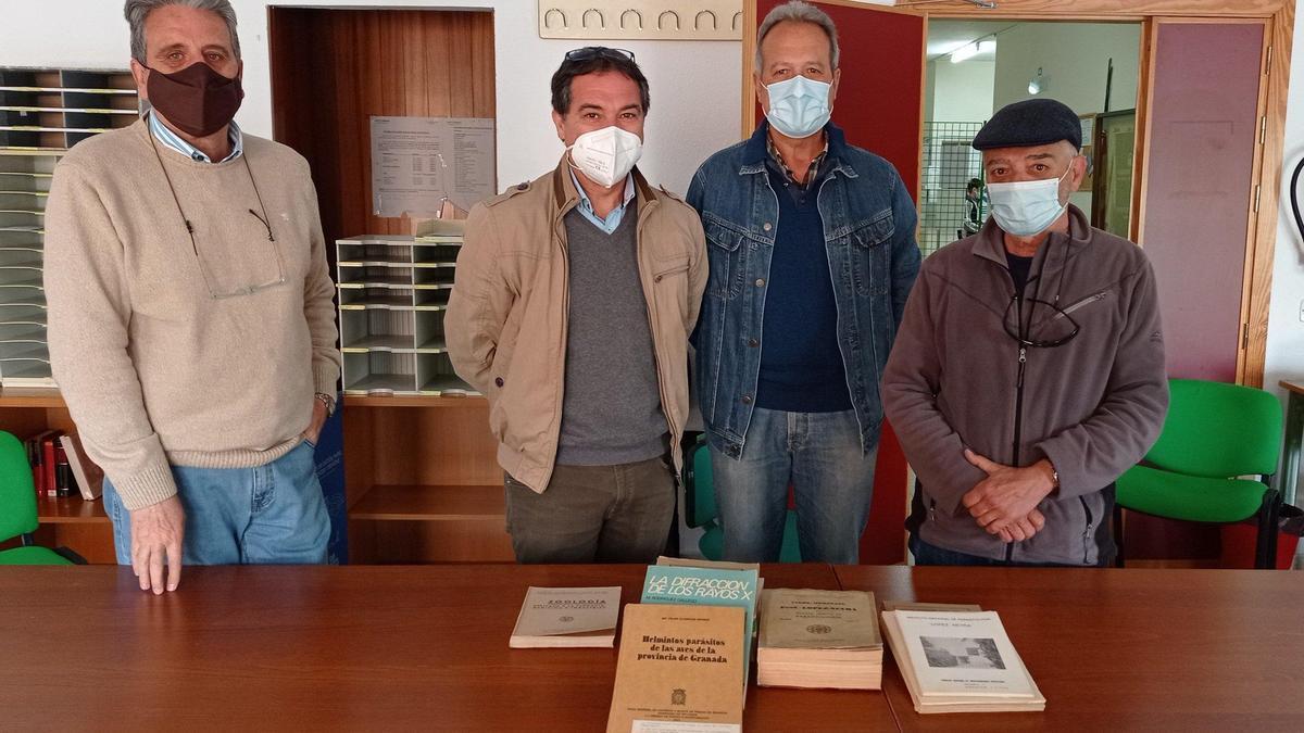 Ejemplares originales del doctor López-Neyra.
