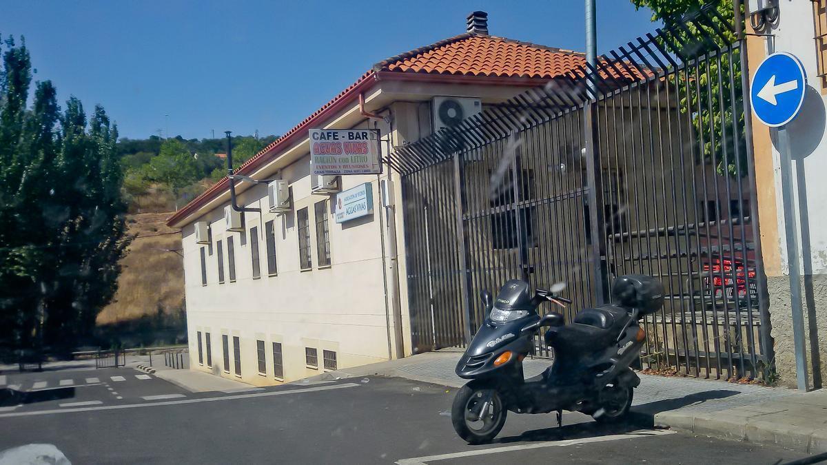 Sede vecinal de Aguas Vivas.