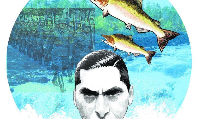 La guerra que los alemanes perdieron contra los salmones
